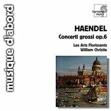 LES ARTS FLORISSANTS  - CD HANDEL CONCERTOS