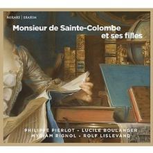 PHILIPPE PIERLOT  - CD MONSIEUR DE SAINTE-COLOMB
