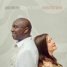 JANA HERZEN & CHARNETT MOFFETT  - CD ROUND THE WORLD