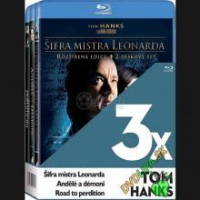 FILM  - BRD 3 BD 3x Tom Hanks Blu-ray [BLURAY]