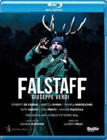 VERDI G.  - BRD FALSTAFF [BLURAY]