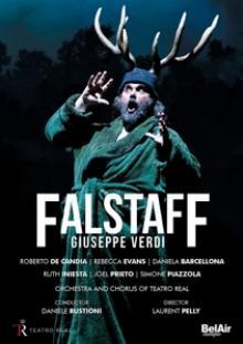 GIUSEPPE VERDI (1813-1901)  - DVD FALSTAFF