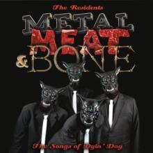RESIDENTS  - 2xVINYL METAL, MEAT ..