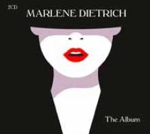 MARLENE DIETRICH  - CD+DVD THE ALBUM (2CD)