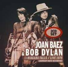 JOAN BAEZ & BOB DYLAN  - CD+DVD NIAGARA FALLS / LIVE 1975 (2CD)
