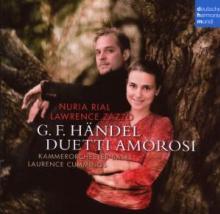 RIAL NURIA & LAWRENCE ZAZZO  - CD HANDEL - DUETTI AMOROSI
