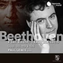 PAUL LEWIS  - CD BEETHOVEN BAGATELES