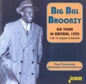 BROONZY BIG BILL  - 2xCD ON TOUR (BRITAIN 1952)