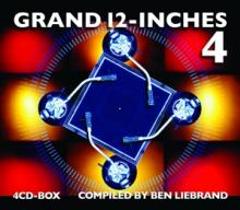 LIEBRAND BEN  - 4xCD GRAND 12-INCHES VOL.4