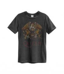 QUEEN.=T-SHIRT=  - TR COLOUR CREST -MEN-.. -L-
