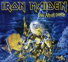 IRON MAIDEN  - 2xCD LIVE AFTER DEATH