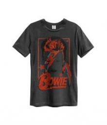 BOWIE DAVID =T-SHIRT=  - TR ALADDIN SANE -MEN-.. -M-