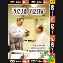 FILM  - DVD Pozor, vizita! DVD
