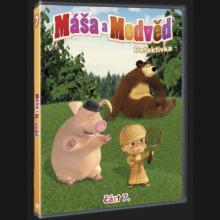 FILM  - DVD Máša a Medveď 7 - Detektivka DVD