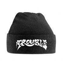 TROUBLE  - HATS LOGO