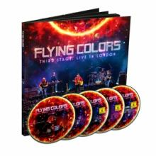 FLYING COLORS  - 5xCD THIRD STAGE:LIV..