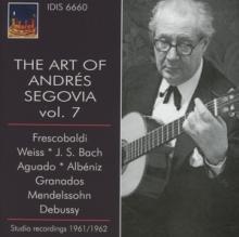 VARIOUS  - CD DIE KUNST DES ANDRES SEGO