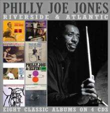 PHILLY JOE JONES  - 4xCD RIVERSIDE & ATLANTIC