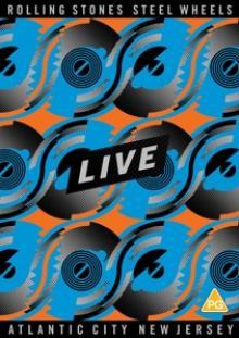 ROLLING STONES  - DV STEEL WHEELS LIVE