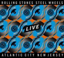 ROLLING STONES  - 3xCD+DVD STEEL WHEELS.. -DVD+CD-