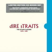 DIRE STRAITS  - 6xCD STUDIO ALBUMS 1978 - 1991