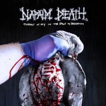 NAPALM DEATH  - VINYL THROES OF JOY ..