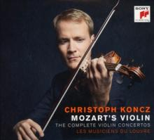 KONCZ CHRISTOPH  - CD MOZART'S VIOLIN -..