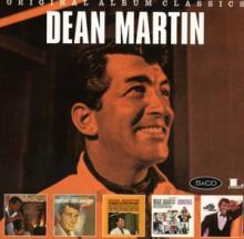 DEAN MARTIN  - 5xCD ORIGINAL ALBUM CLASSICS