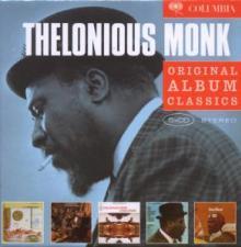 MONK THELONIOUS  - 5xCD ORIGINAL ALBUM CLASSICS
