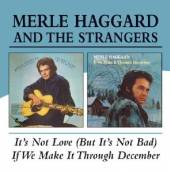 HAGGARD MERLE  - CD IT'S NOT LOVE/IF WE CAN'T