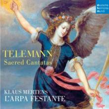 TELEMANN GEORG PHILIPP  - CD KANTATEN