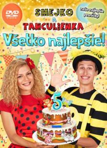 SMEJKO A TANCULIENKA  - DVD VSETKO NAJLEPSIE!