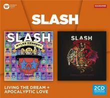 SLASH  - 2xCD LIVING THE DREAM & APOCALYPTIC LOVE