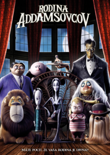 FILM  - DVD RODINA ADAMSOVCOV