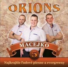 ORIONS  - CD 5 MACEJKO