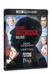 FILM  - 4xBRD ALFRED HITCHCO..