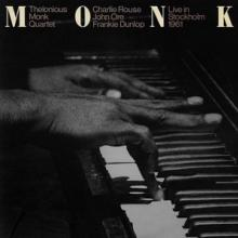 MONK THELONIOUS  - 2xCD LIVE IN STOCKHOLM 1961