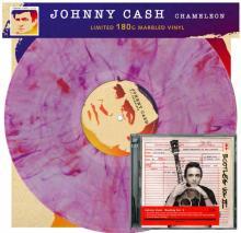 JOHNNY CASH  - VINYL CHAMELEON + BO..