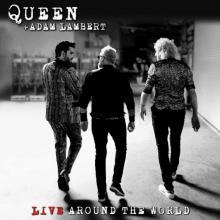 QUEEN & ADAM LAMBERT  - 2xCD+DVD LIVE AROUND.. -CD+DVD-
