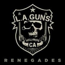 LA GUNS  - VINYL RENEGADES (RED..