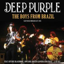 DEEP PURPLE  - CD+DVD THE BOYS FROM BRAZIL (2CD)