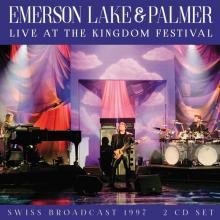 EMERSON LAKE AND PALMER  - CD+DVD LIVE AT THE K..