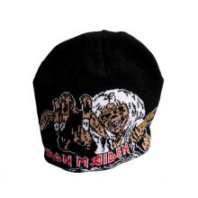 IRON MAIDEN  - HATS NUMBER OF THE BEAST (BEANIE)