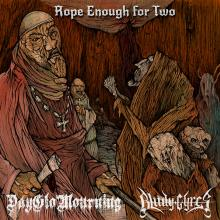 DAYGLO MOURNING/BLUDY GYRES  - VINYL ROPE ENOUGH FOR TWO [VINYL]