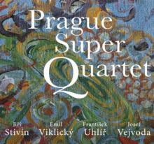STIVIN JIRI EMIL VIKLICKY FRAN..  - CD PRAGUE SUPER QUARTET