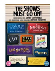 MUSICAL  - 12xDVD SHOW MUST GO ON!..