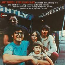 LARRY CORYELL  - VINYL AT THE VILLAGE..
