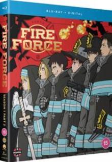 FIRE FORCE SEASON 1 PART 2 (EP  - BRD 24) [BLURAY]