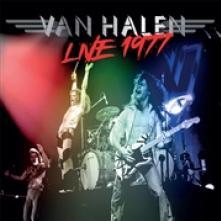 VAN HALEN  - VINYL LIVE 1977 (RED..