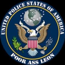 POOR ASS LEON  - CD UNITED POLICE STATES OF..
